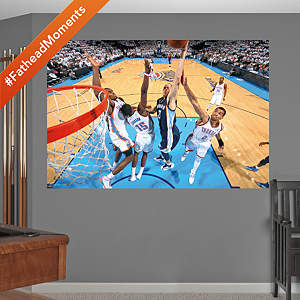 Tayshaun Prince Sky High Dunk Mural Fathead Wall Decal